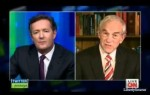 Ron Paul did well last night on Piers Morgan.